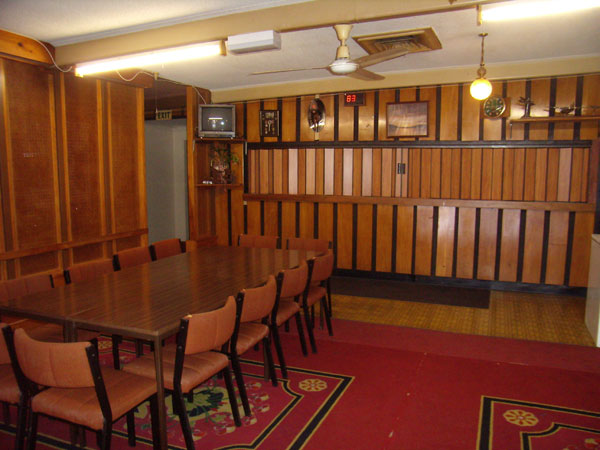 Bar Area in Upstairs Function Room